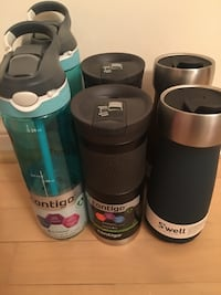 Swell & Contigo coffee mug & water bottle (6 total) Richmond Hill, L4B 3V5