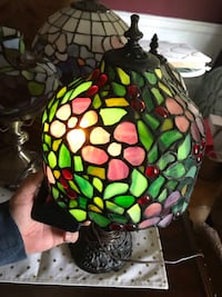 Stained Glass Table Lamp Drexel Hill, 19026