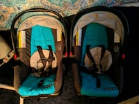 baby's two blue and black car seat carriers $25 ea Woodbridge, 22193