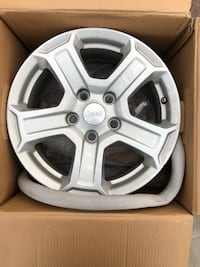 gray Ford 5-spoke car wheel Hasbrouck Heights, 07604