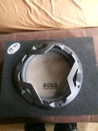 12 inch subwoofer with box. 80 or best offer Massachusetts, 02130