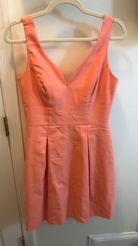women's orange sleeveless dress Washington, 20009