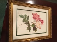 2 Beautiful Rose Pictures with Frames Ossining