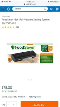 FoodSaver Vacuum Sealing System *NEW SEALED BOX* Milwaukee, WI 53214, USA