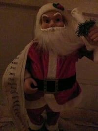 Decoration Santa with list Quitman, 31643