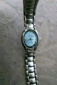 round silver-colored Gucci analog watch Las Vegas, 89109