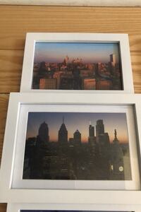Collage Frame with 4 Philly Aerial Photos