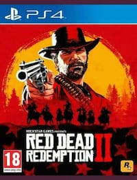 Red Dead Redemption 2 PS4, Brand New & sealed Leigh