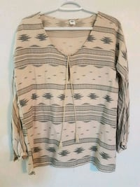 Aztec blouse/ Old Navy/ Small-Med Mississauga, L5G 1N8
