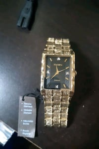Brand new elgin watch (genuine diamonds)