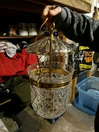 Waterford Crystal  Hanging light fixture