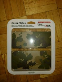 New Nintendo 3DS Camouflage Cover Plates