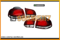 PILOTOS LOOK SPORT ROJO/CROMO GOLF MK6 Alicante