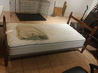 white and black bed mattress Hagerstown