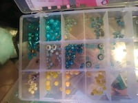 Jewelry making beads some findings read desc. Silver Spring