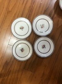 Alfred meakin england china saucers CHICAGO