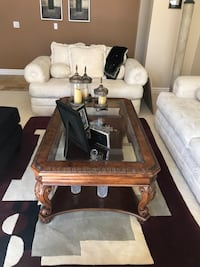 Sofas, black chair and coffee table. Super deal at 750.00 Chula Vista, 91915