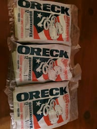 3 Bags Of Oreck For A Vacuum Cleaner