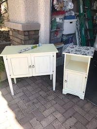 Hutch and side table.   Las Vegas, 89178