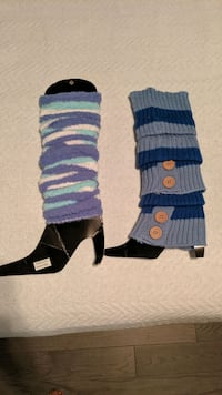 2 Pairs of Leg Warmers Mississauga, L5M 4S9
