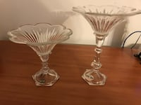 Glass holders decoration ( new new with ticket still ) bran new