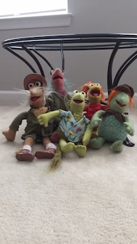 Fraggle Rock Plush Dolls from the 1980's Ashburn, 20148