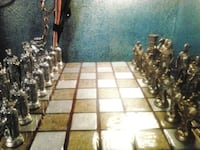 50 year old Vintage Roman Viking chess set Vancouver, 98663