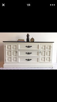 New refinished dresser, baby changer or media console Richfield