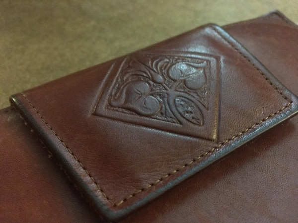 2c097959bd9f Used Vintage Amity Wallet - Genuine Leather for sale in Seattle - letgo