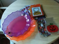 Halloween treat bags, cookie gift boxes, platters