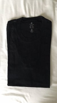 Men's black T-Shirt, size small. 100% cotton. Used, but like new. Alexandria, 22314