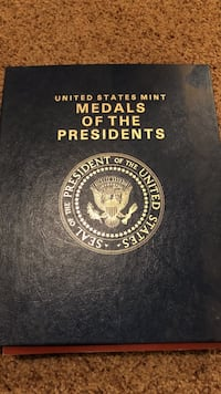 Medals of the Presidents set