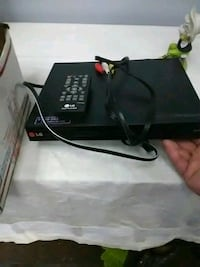 A DVD with remote