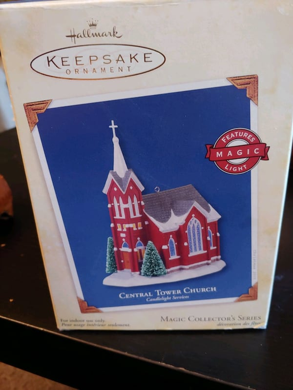 "Hallmark Keepsake: ""Central Tower Church""  7"