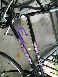 black and purple bicycle frame Beltsville