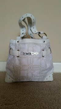 white and gray leather shoulder bag Tampa, 33615