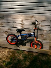 blue and red BMX bike Powell, 43065
