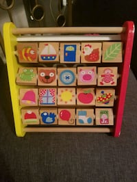 Alex Jr. Busy Tot Wooden Activity Centre  Mississauga, L5M 0P4