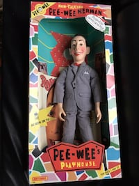 Vintage PeeWee Herman doll and Chairry  492 km