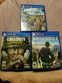 three assorted PS4 game cases Lebanon, 17046