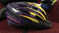 purple and yellow Schwinn bike helmet Calgary, T2T 1K1