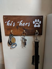 His hers the dog key hook Windsor, N9A 5H9