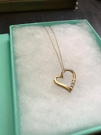 10k gold heart necklace  Phoenix, 85032