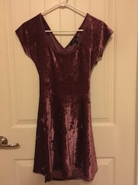 Small Forever 21 faux velvet dress Fort Washington, 20744