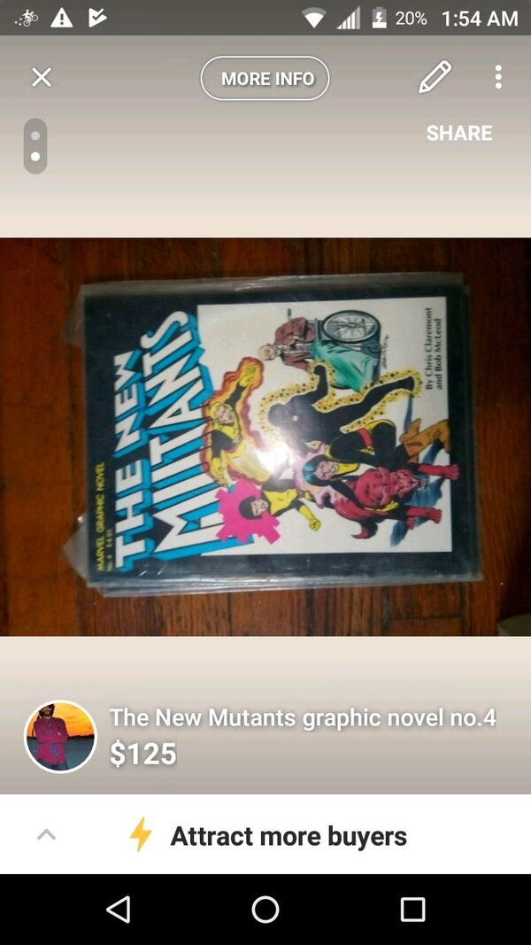The New Mutants Graphic Novel #issue 4