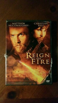 Reign of Fire DVD case Chicago, 60629