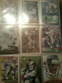NFL trading card collection Lubbock, 79403