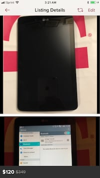 Lg G pad 7.0 7 inch Tablet Great working Condition Fredericksburg, 22401