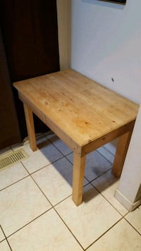 Wood Accent Table Edmonton, T5C 1N4
