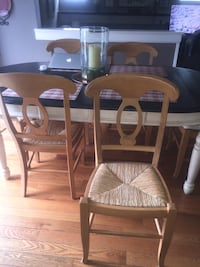 6 pottery barn chairs  Delran, 08075